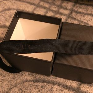Authentic Gucci Jewelry Box